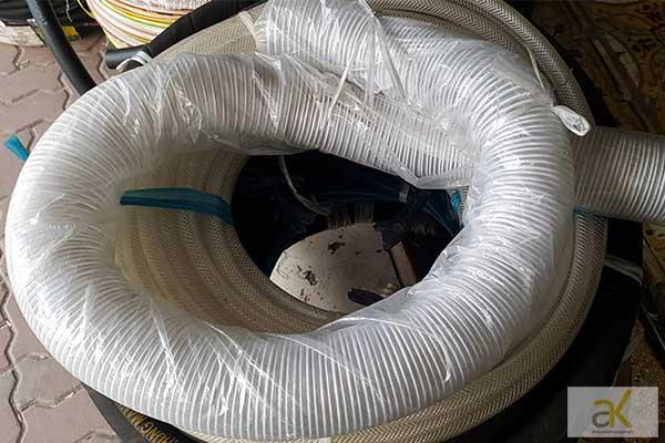 Cuộn ống gió bụi PVC lõi thép