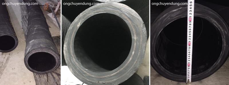 Ống cao su lõi thép phẳng bề mặt đường kính trong 270mm ngoài 350mm