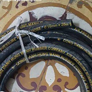 Ống cao su bố vải phi 10 thương hiệu Công Danh Hùng Mạnh