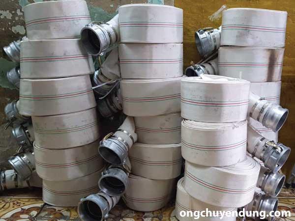 Vòi cứu hỏa Trung Quốc được chúng tôi hỗ trợ lắp khớp nối và đai siết