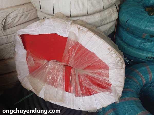Ống bơm nước vải bạt với chiều dài 100m